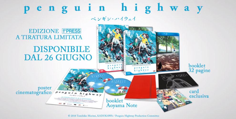 PENGUIN HIGHWAY - Recensione dell'edizione Blu-ray