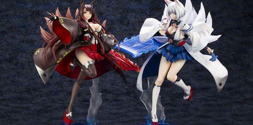 Azur Lane: Kotobukiya presenta le figure di Akagi e Kaga