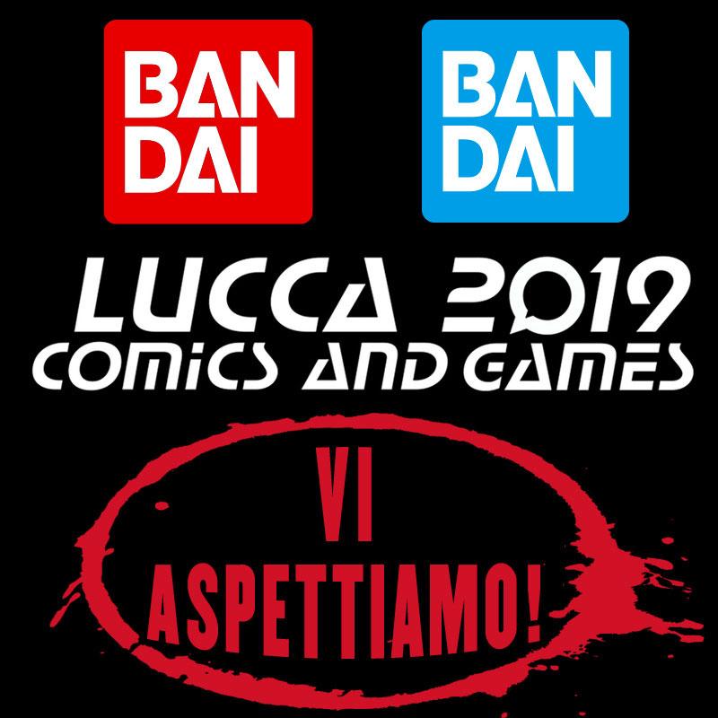 Bandai al Lucca Comics & Games 2019