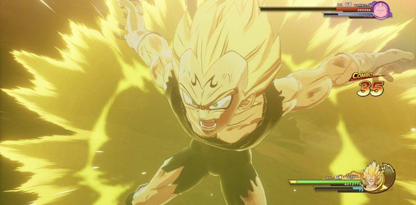 DRAGON BALL Z: KAKAROT – Un video di gameplay per Majin Vegeta