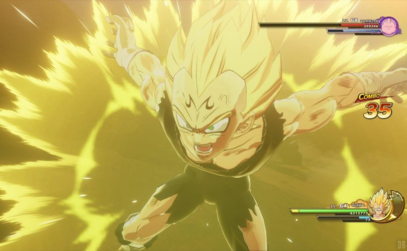 DRAGON BALL Z: KAKAROT – Un video di gameplay per Majin Vegeta