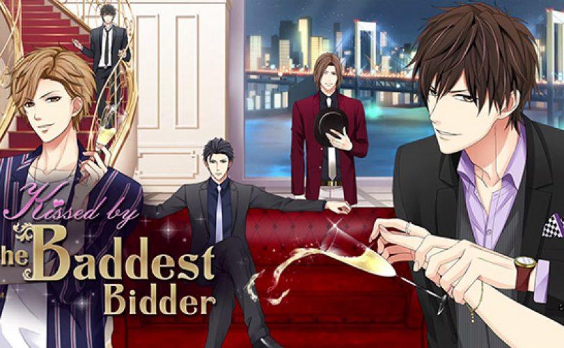 La visual novel otome Kissed by the Baddest Bidder arriverà su Switch quest'anno