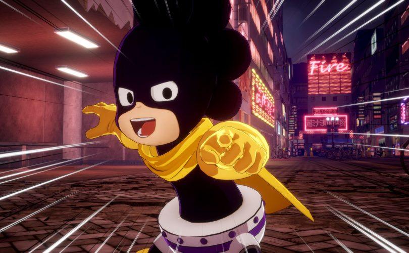 MY HERO ONE'S JUSTICE 2: immagini per Mina Ashido e Minoru Mineta