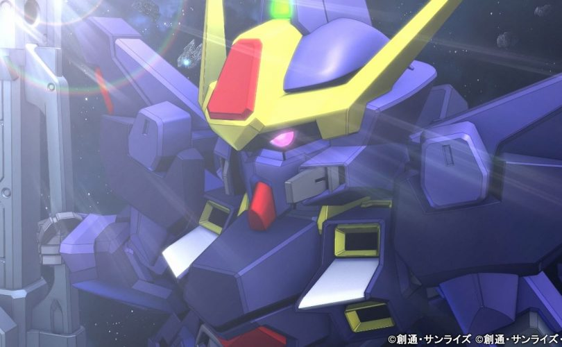 SD Gundam G Generation Cross Rays: un trailer per il Sisquiede (Titans Color)
