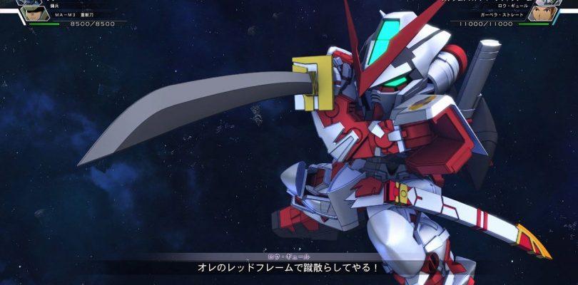 SD Gundam G Generation Cross Rays: demo disponibile su PS4 e Switch in Giappone
