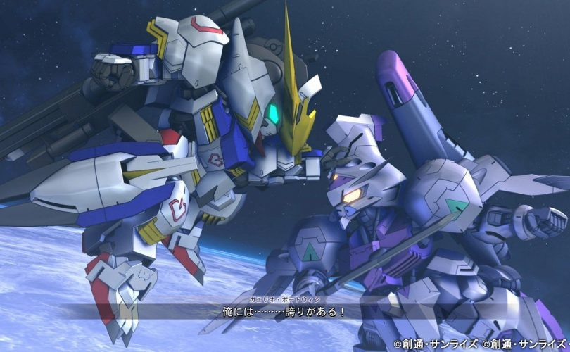 SD Gundam G Generation Cross Rays: trailer e nuove immagini da BANDAI NAMCO Entertainment