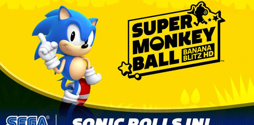 Sonic si unisce al cast di Super Monkey Ball: Banana Blitz HD