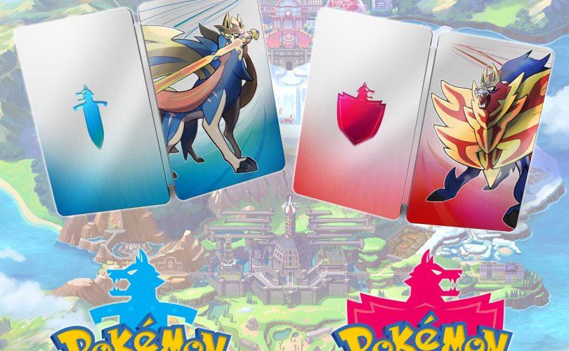 Pokémon Spada e Scudo: una steelbook con il preorder digitale