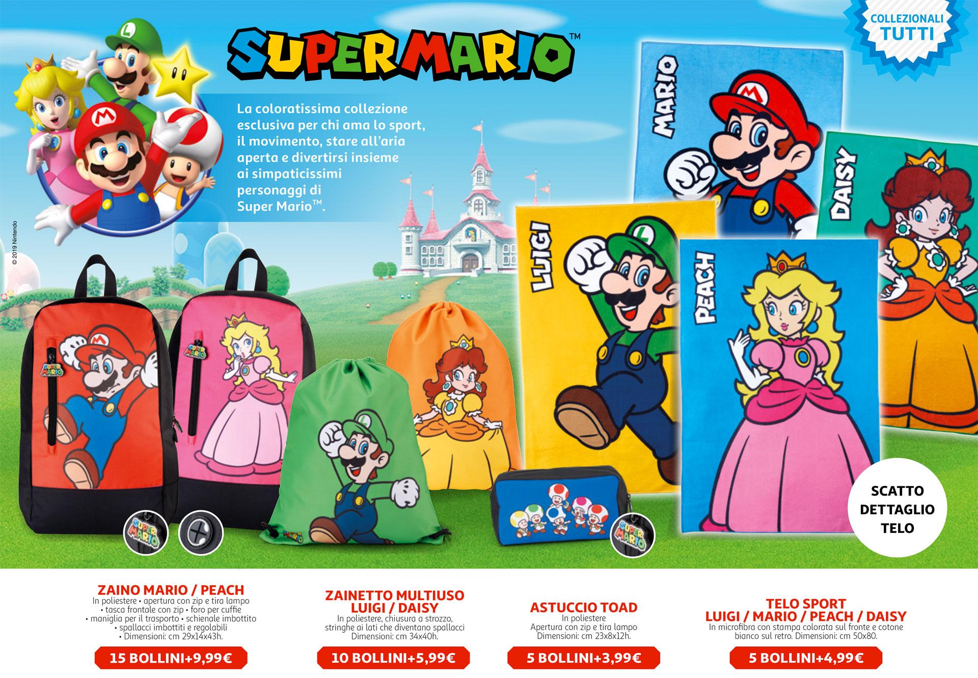 Super Mario: arriva la raccolta punti da Auchan e Simply