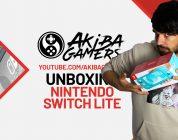 VIDEO – Nintendo Switch Lite UNBOXING