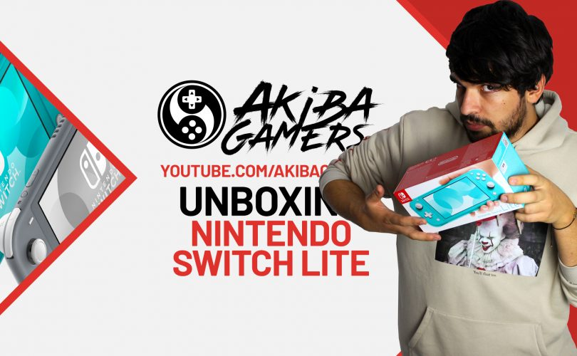 VIDEO – Nintendo Switch Lite UNBOXING