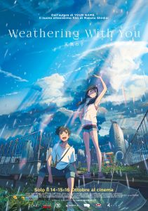 WEATHERING WITH YOU – La ragazza del tempo