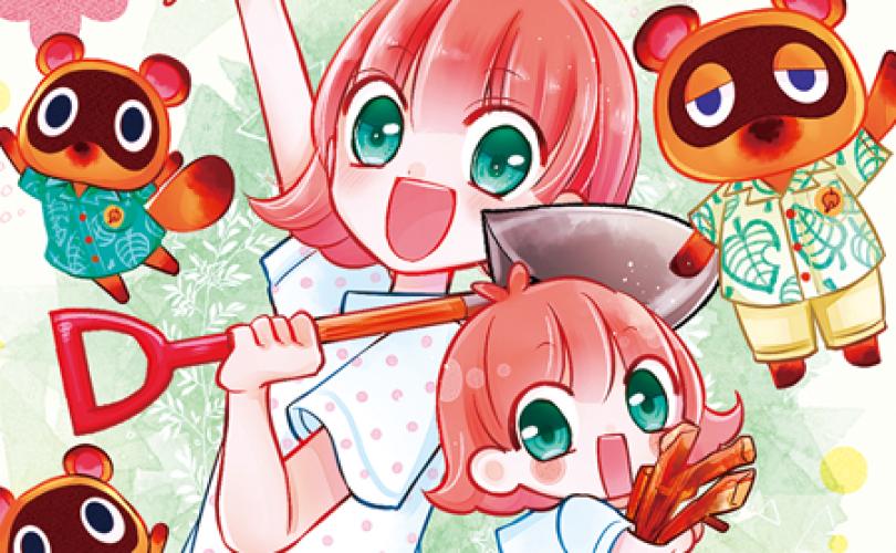 Animal Crossing diventa un manga