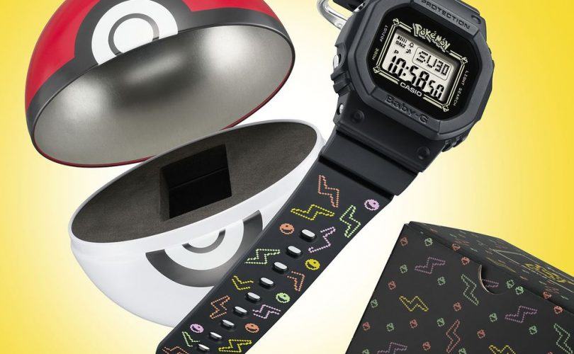 BABY-G annuncia la collaborazione con Pokémon
