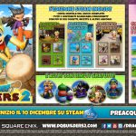 DRAGON QUEST BUILDERS 2 arriva su PC a dicembre