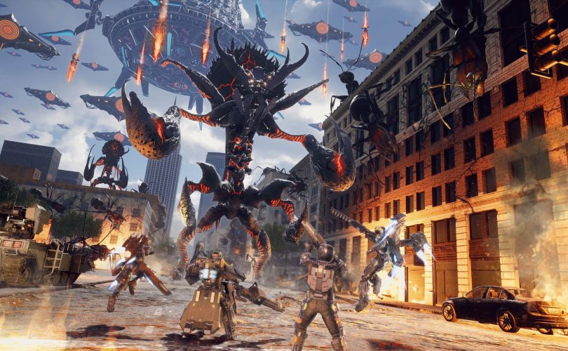 EARTH DEFENSE FORCE: IRON RAIN - Recensione