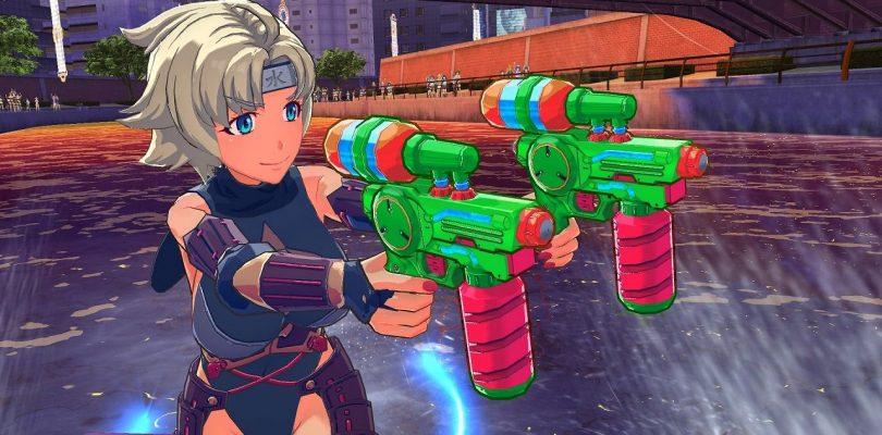 Kandagawa JET GIRLS: video di gameplay per Yumi e Asuka