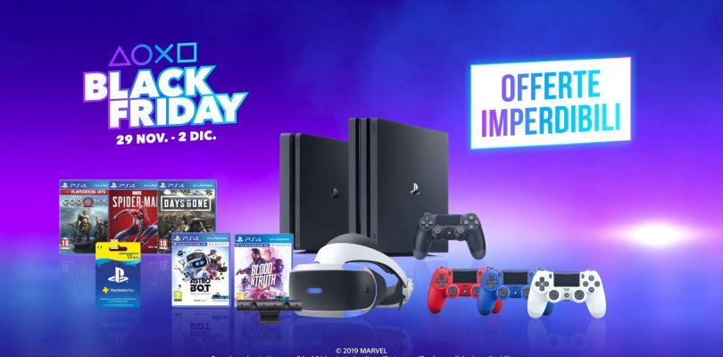 PlayStation: le promozioni del Black Friday 2019