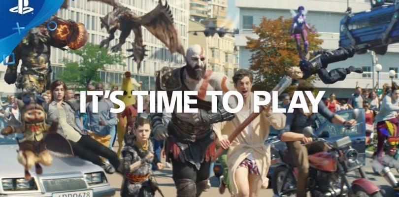 It's Time to Play, ecco il nuovo video promozionale di PS4