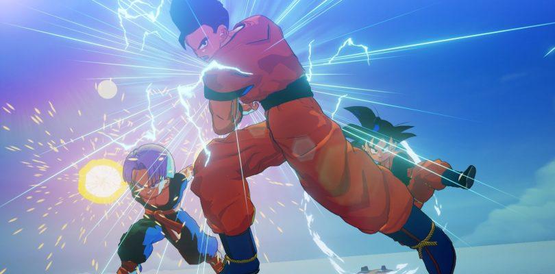 DRAGON BALL Z: KAKAROT – Tante belle immagini per Goten, Trunks, e l'Android 18