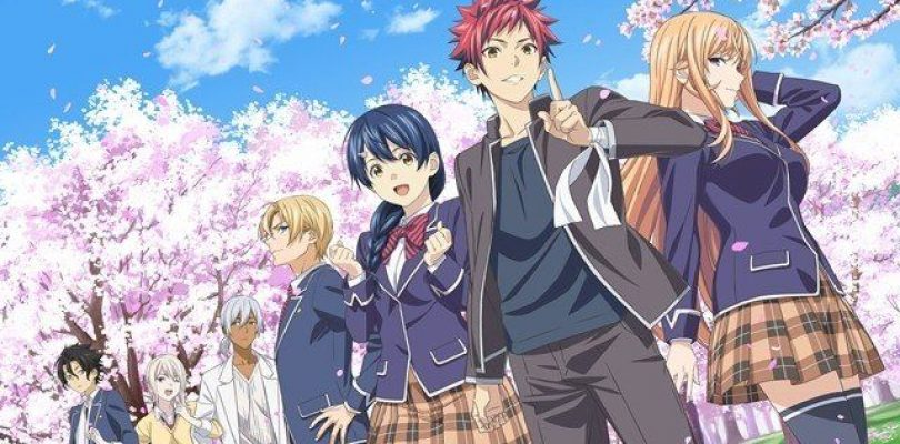 Food Wars! Shokugeki no Soma: l'anime avrà una quinta stagione