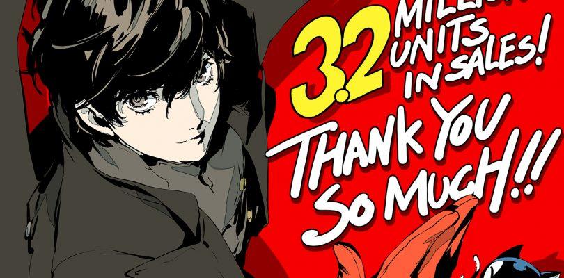 Persona 5 celebra le 3.2 milioni di unità vendute in tutto il mondo