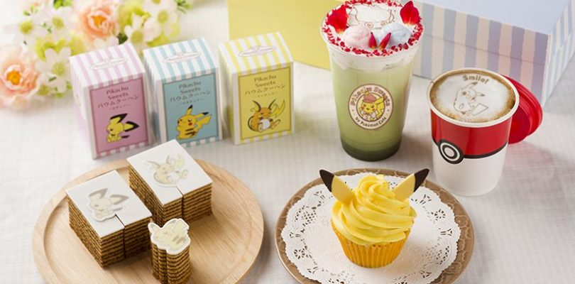 Pikachu Sweets by Pokémon Cafe