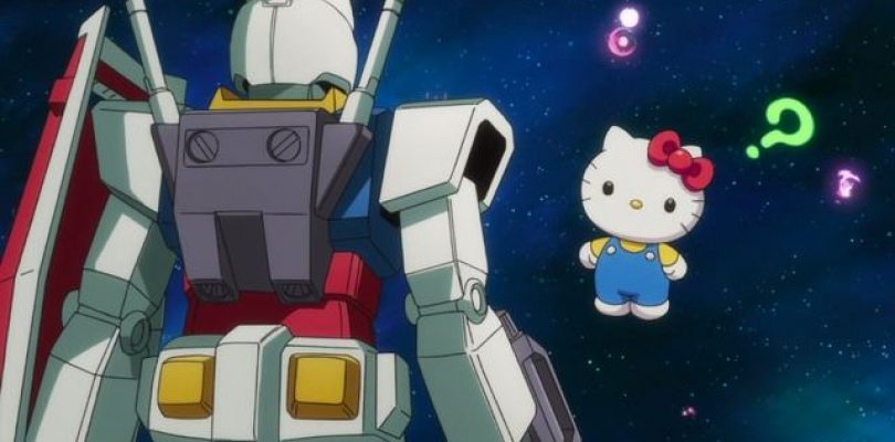 Hello Kitty vs Gundam: disponibile il corto conclusivo dell'evento crossover