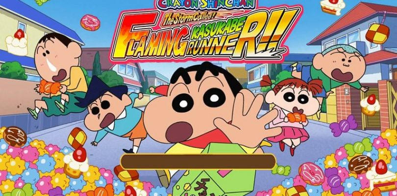 Crayon Shinchan: The Storm Called! Flaming Kasukabe Runner!! è ora disponibile su Nintendo Switch