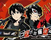 Sword Art Online: nei mobile game ci sarà un crossover con Persona 5 Royal