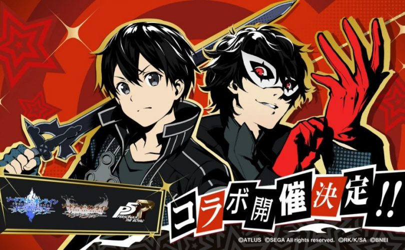 Sword Art Online: nei mobile game ci sarà un crossover con Persona 5 Royal