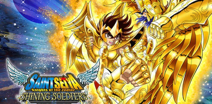 SAINT SEIYA SHINING SOLDIERS annunciato per iOS e Android