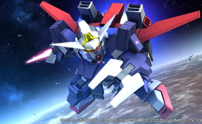 SD Gundam G Generation Cross Rays: trailer per il quarto DLC
