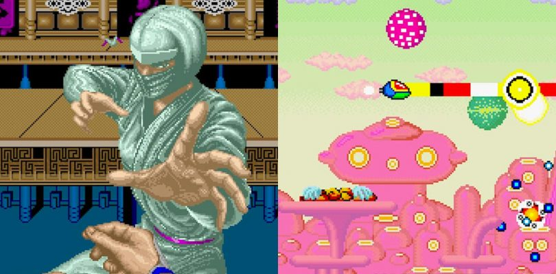 SEGA AGES Fantasy Zone e Shinobi