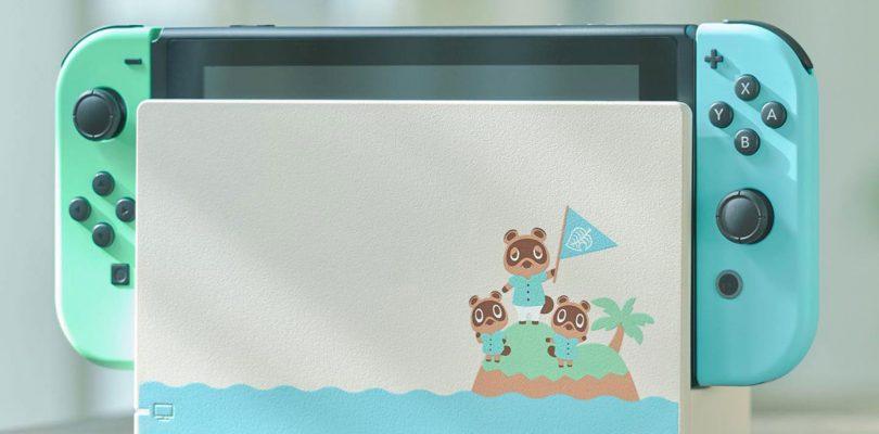 Nintendo Switch in edizione limitata per Animal Crossing: New Horizons