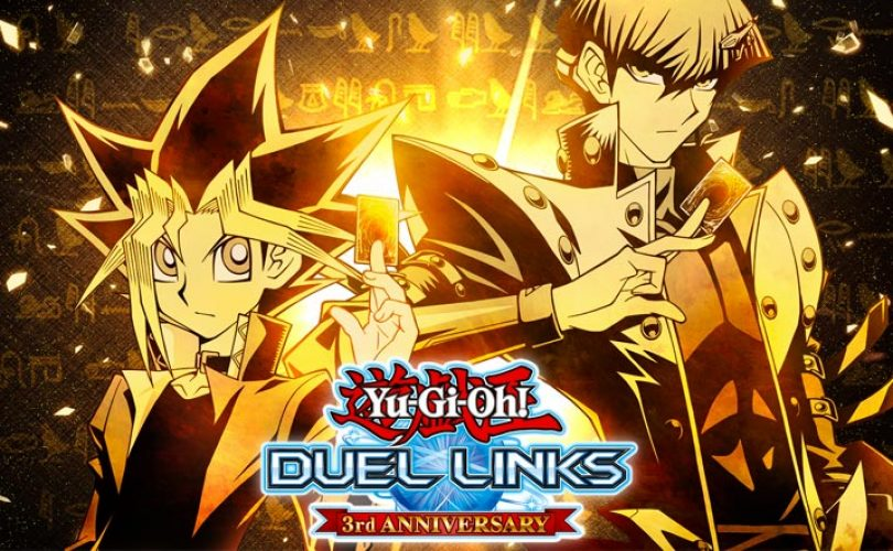 Yu-Gi-Oh! Duel Links celebra il suo terzo anniversario