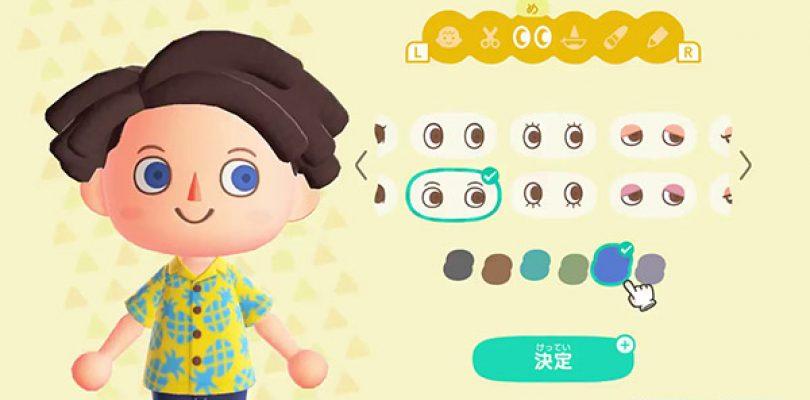 Animal Crossing: New Horizons – Uno sguardo alla personalizzazione dell'avatar