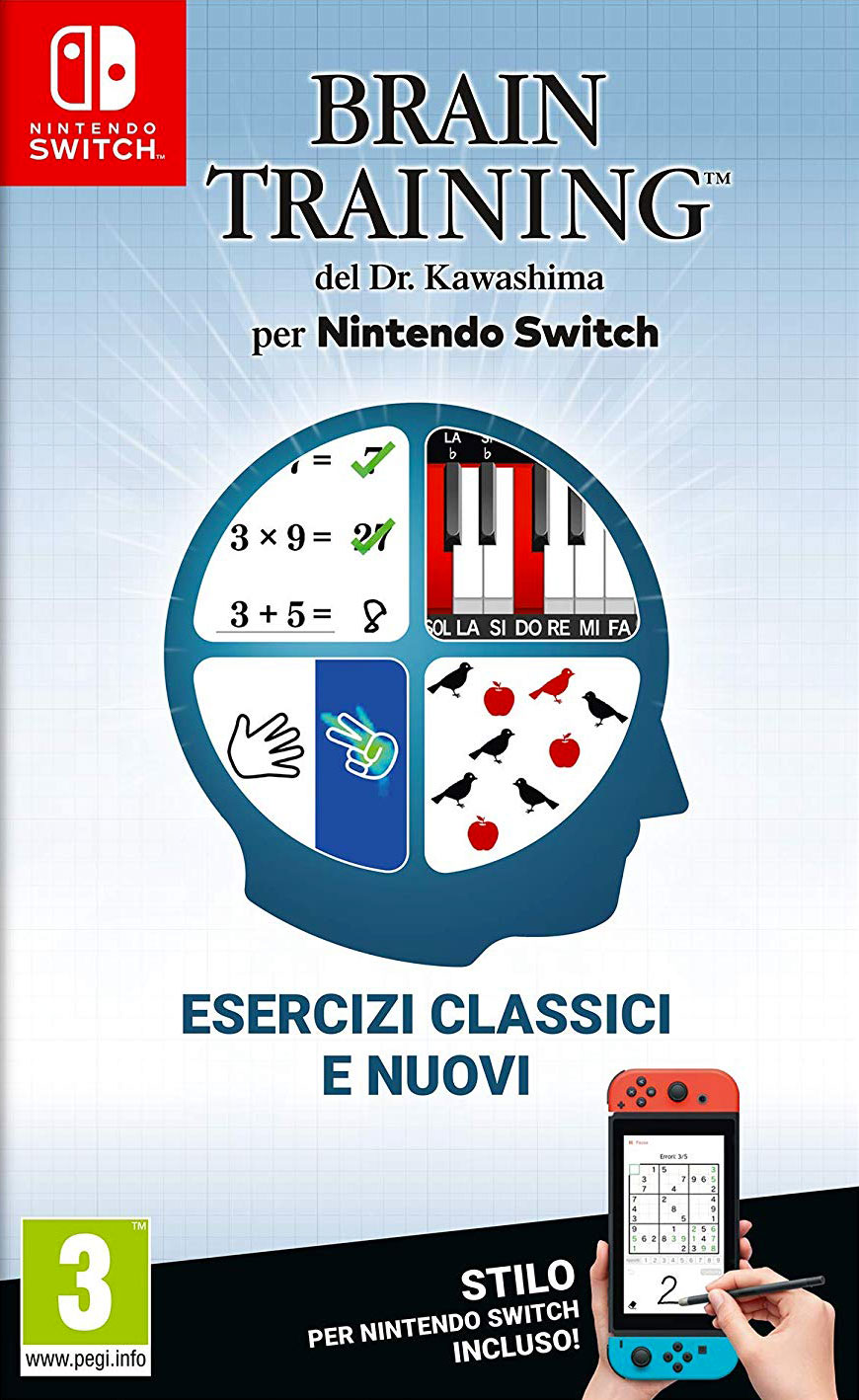 Brain Training del Dr. Kawashima per Nintendo Switch - Recensione