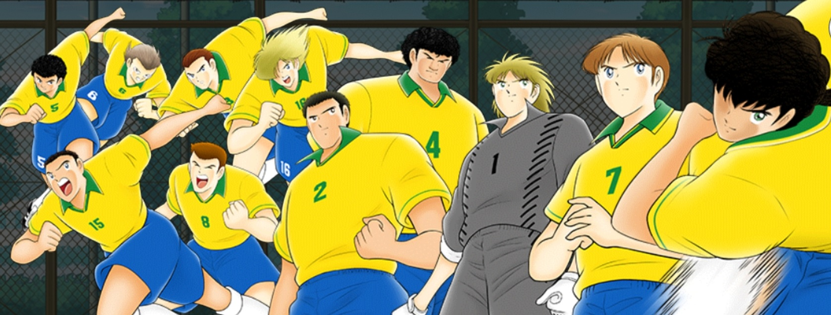 Captain Tsubasa - Nazionale Brasile