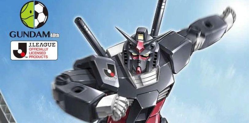 Gundam e la J.League uniti per una nuova collaborazione