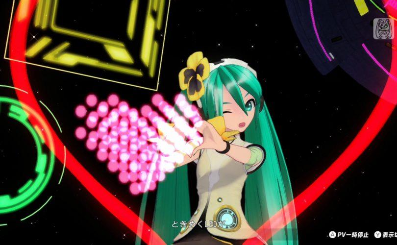 Hatsune Miku: Project DIVA MegaMix – nuovi dettagli su personalizzazione e playlist