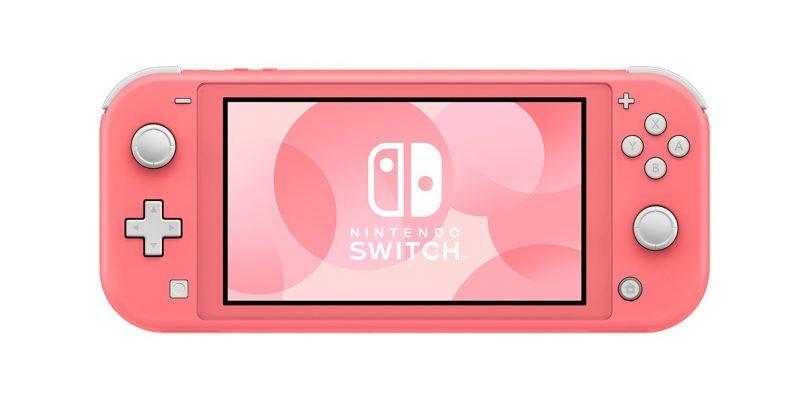 Nintendo Switch Lite nella nuova colorazione 'Corallo' debutterà in Giappone a marzo