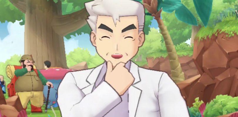 Pokémon Masters Professor Oak