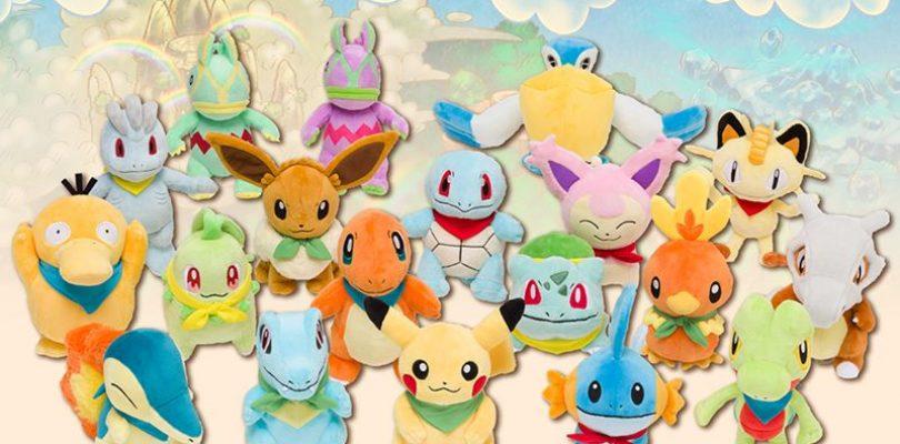 Pokémon Mystery Dungeon DX: in arrivo i peluche e altro merchandise