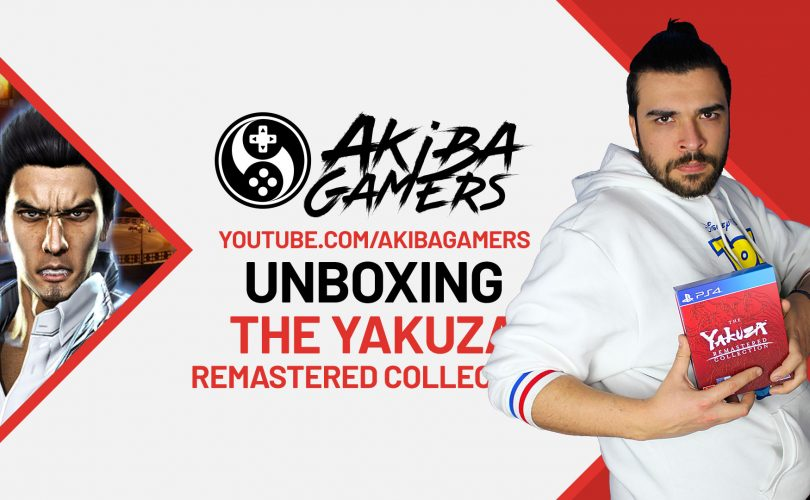 VIDEO – The Yakuza Remastered Collection UNBOXING