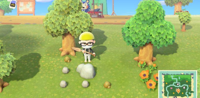 Animal Crossing: New Horizons - Guida: come ottenere Minerale di Ferro