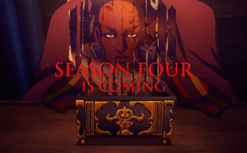 Castlevania: Netflix ha annunciato la quarta stagione