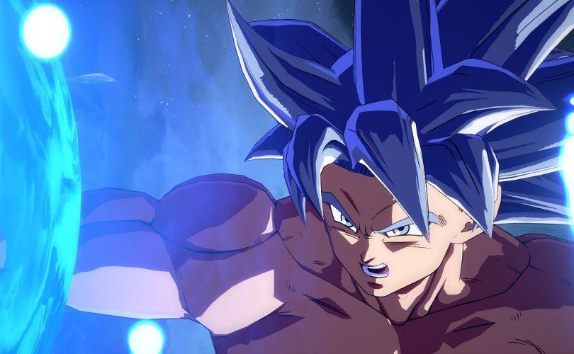 DRAGON BALL FighterZ: finestra di lancio per Goku Ultra Istinto
