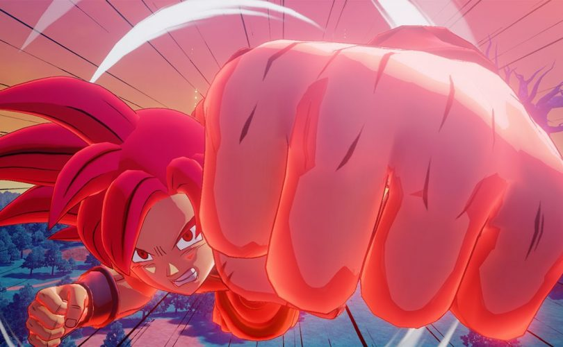 DRAGON BALL Z: KAKAROT – Teaser trailer per Goku SSJ God e Beerus