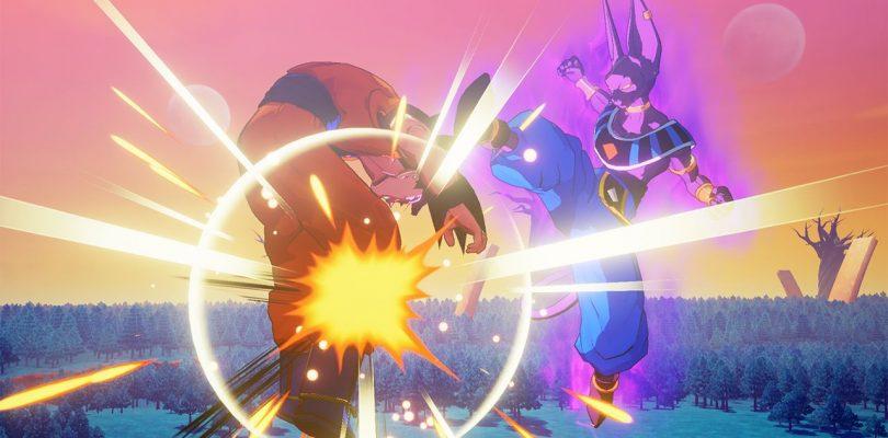 DRAGON BALL Z: KAKAROT - Teaser trailer per Goku SSJ God e Beerus